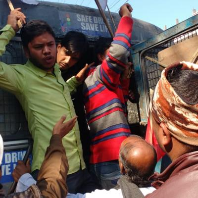 Dhupguri Arrest 2 Transport Workers