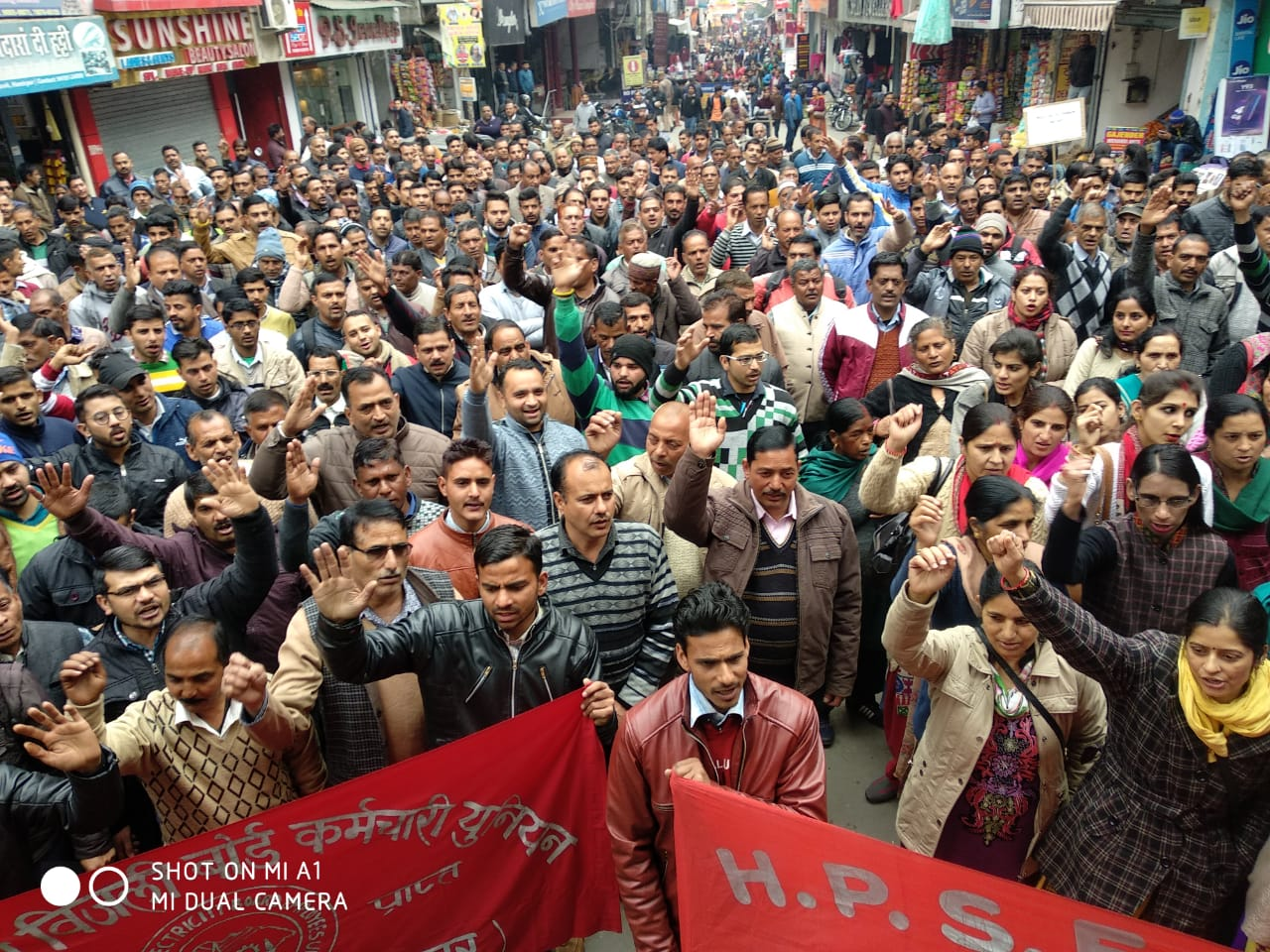 CONGRATULATE THE 'SCHEME WORKERS' FOR SUCCESSFUL ALL INDIA STRIKE