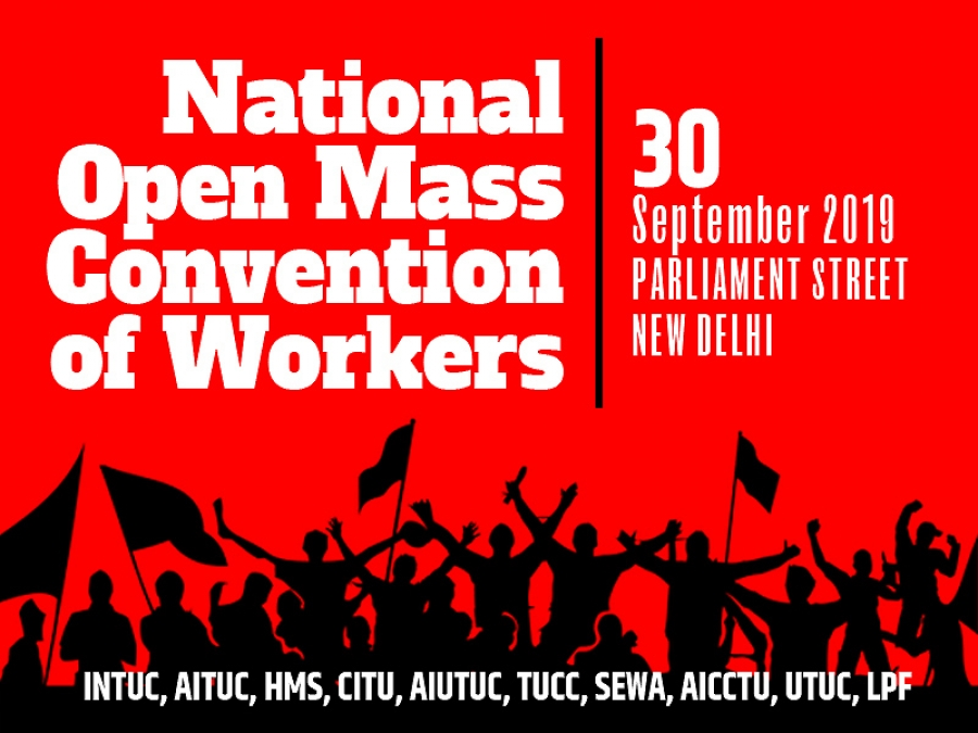 National Open Mass Convention of Workers on 30 September 2019
