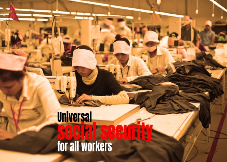 Universal social security for all workers