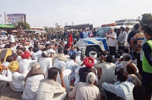 CITU strongly condemns the repression unleashed by the BJP government in Rajasthan on the farmers