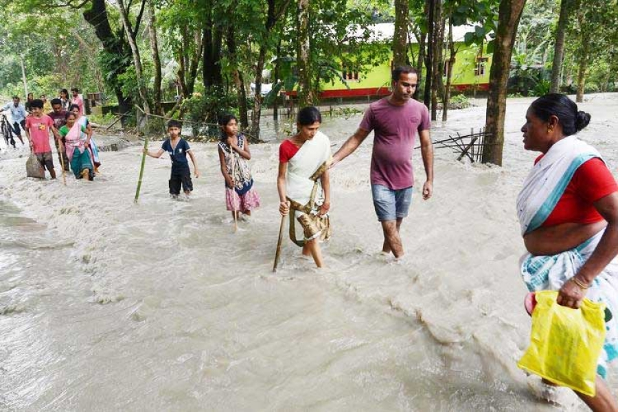 Rush funds in support of people of Assam affected by devastating flood